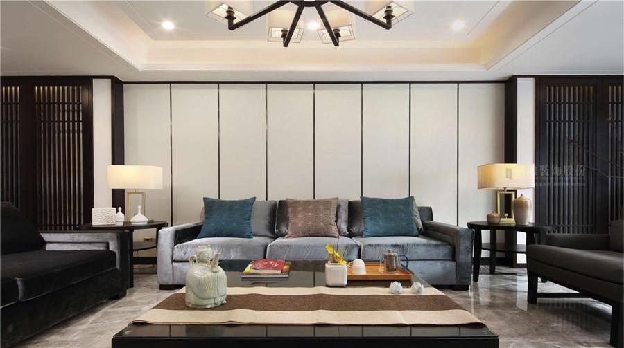 中海鹿丹名苑4栋客厅装修效果图