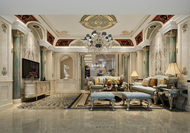 优雅客厅装修效果图