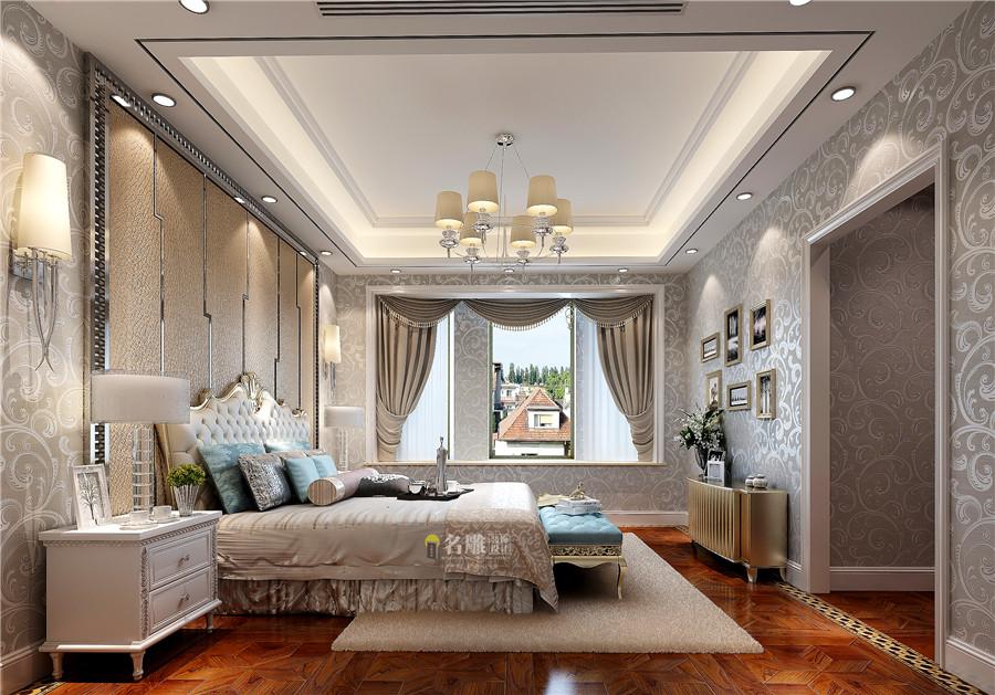 250平简欧风格别墅卧室装修效果图