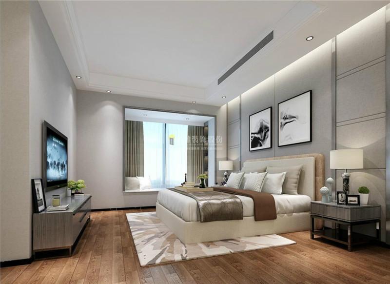 装修公司现代卧室效果图